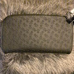 NWT Shane x Jeffree Black Double Zip Makeup Bag